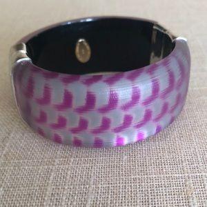 Alexis Bittar wide bracelet